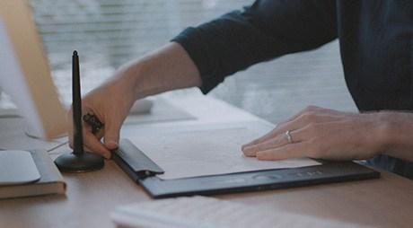قلم نوری وکام Intuos Pro L Paper
