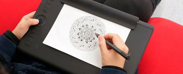 تبلت گرافیکی وکام Intuos Pro Paper Medium