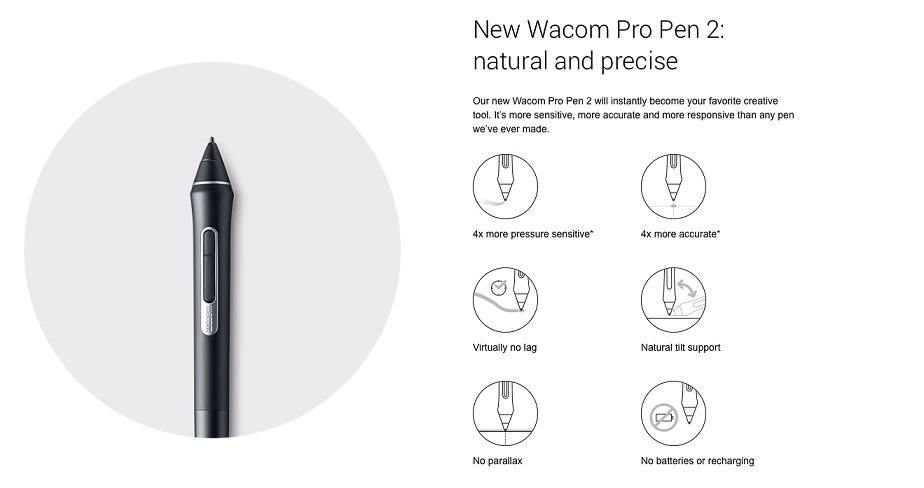 قلم نوری وکام Intuos Pro Medium