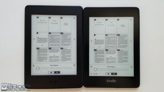 مقایسه کتابخوان کیندل پیپروایت جدید و قدیم
