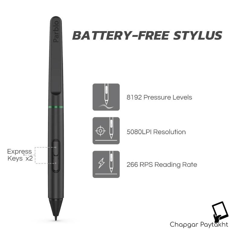 قلم نوری پاربلو Ninos S