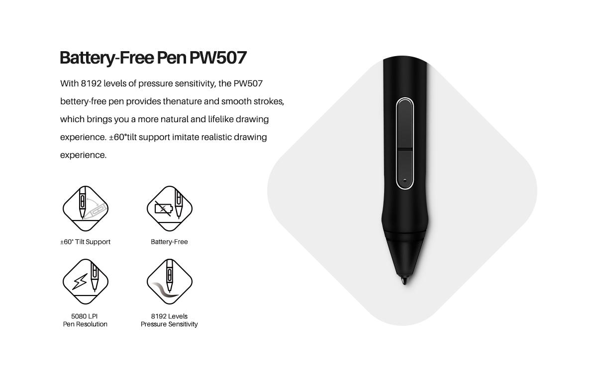 قلم نوری هویون Kamvas Pro 13