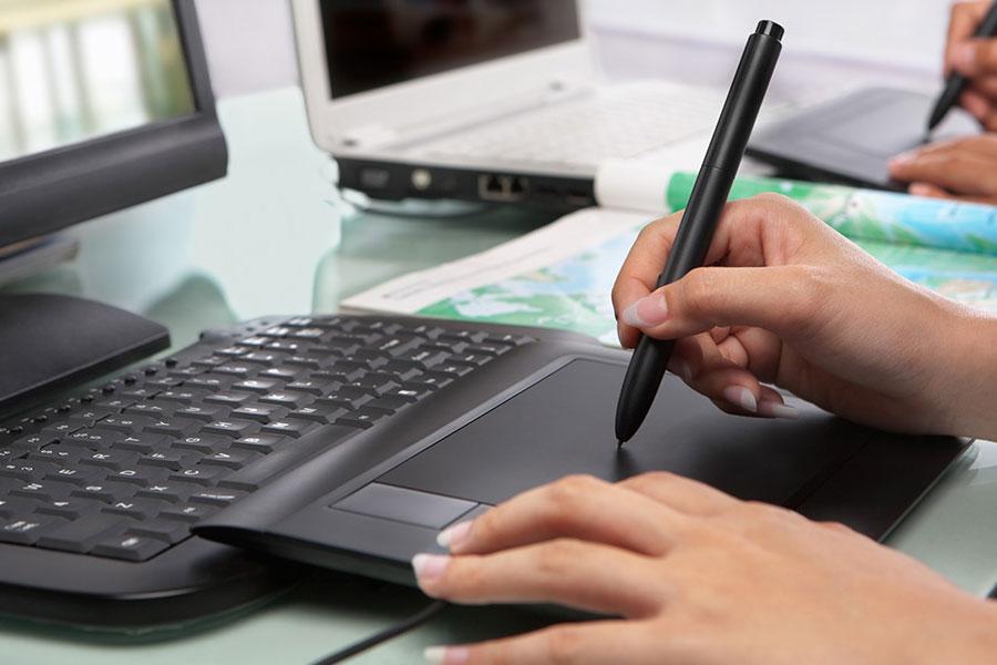 قلم نوری برای تدریس آنلاین
